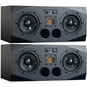 "ADAM A77X 3-Way 2x 7"" Active Studio Monitors (Pair)  Brand New."
