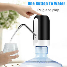 Auto USB Electric Water Pump Dispenser Gallon Drinking Water Bottle LED Switch