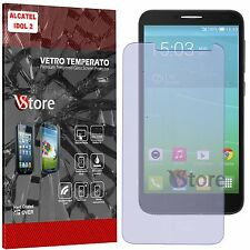 """2 Film glass Tempered for Alcatel One Touch Idol 2 6037 Protector LCD 5"""""""