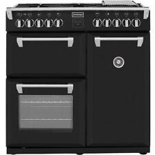 Stoves Richmond900DFT 90cm Dual Fuel Range Cooker - Black