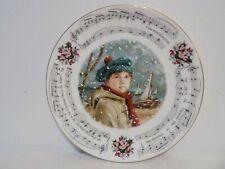 """I Saw Three Ships"" 1986 Royal Doulton Christmas Carols Plate"