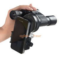 Telescope Cell Phone Adapter Mobile Mounts Universal Spotting Scope Binocular