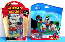 New Disney Mickey Mouse Clubhouse Night Light & Switch Plate Cover Set