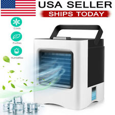 Evaporative Portable Air Conditioner Cooling Air Fan Humidifier Air Cooler Home