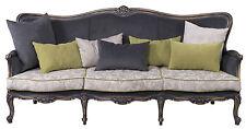 3 Sitzer Sofa RUST013051  Massiv Buche Barock Petro Design