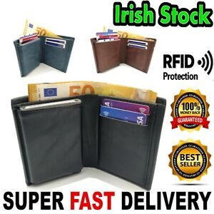 ALU+NOTES RFID Wallet Credit Card Great Quality PU Leather Holder Minimalist Men