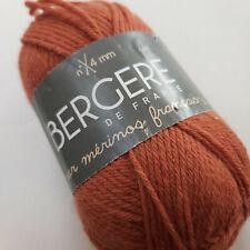 Knitting Yarn ~ Bergere Pur Merinos Francais shade 43 - automne 10 x 50g balls