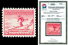 Scott 716 1932 2c Winter Olympics Issue Mint Graded Superb 98 NH with PSE CERT!