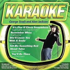 FREE US SHIP. on ANY 2 CDs! USED,MINT CD : Karaoke: George Strait / Alan Jackson