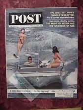 Saturday Evening POST April 25 1964 BOATING Charles Schulz Peanuts Any Wednesday