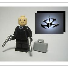 ☆NEW☆ LEGO HITMAN CUSTOM MINIFIG FROM XBOX 360 PS3 GAME