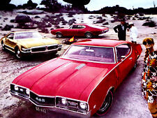 1968 Oldsmobile 442/Cutlass/Toronado Original Ad *Holiday/S/69/door/hood/b umper