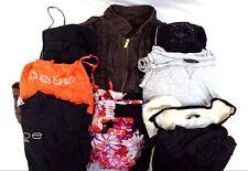 Bebe Women's Lot of 9 Tops Pants Jacket Dresses Sweaters Casual Large L DC13716