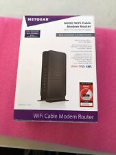 Netgear Cable Modem with Dual Band WiFi & Gigabit Router