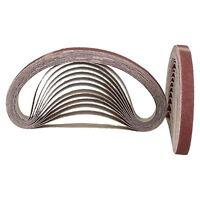 457mm x 13mm Mixed Grit Abrasive Sanding Belts Power File Sander Belt Packs