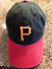 MLB TEAM HAT-(1) PITTSBURGH PIRATES.HAT/CAP.TWINS ENTERPRISE.SIZE X-LARGE.FITTED
