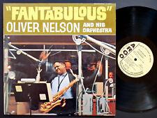 OLIVER NELSON Fantabulous ARGO LP-737 US '64 DG MONO PROMO Phil Woods Ben Tucker
