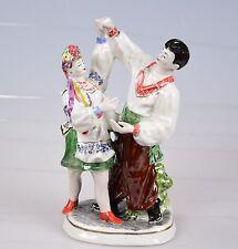 Porzellanfigur ukrainische Porzellan Paar Ukraine Russland 26 cm !