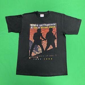 BRUCE SPRINGSTEEN Vintage 1999 Tour Concert T Shirt Mens Large
