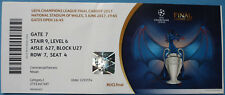 Ticket Champions League Final 2017 juventus fc turín-real madrid en Cardiff