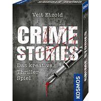 KOSMOS Veit Etzold Crime Stories Kartenspiel Spiel Familienspiel ab 16 Jahren