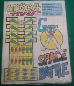 SUPER GIOCA TV SPACE BATTLE GUNDAM N. 2 1981