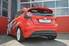 FMS échappement sport inox st-arrière Ford FIESTA Facelift (ja8, à partir de 13) 1.0 48/59 KW
