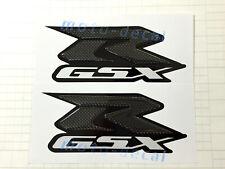 Real Carbon Fiber For Suzuki GSXR1000 GSXR 600 750 Tank 3D Decal Fairing Sticker