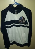 2014 NBA All Star Game New Orleans Adidas Basketball Track Jacket Size M