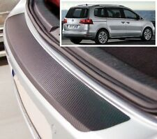 VW Sharan (7N) - Carbon Style rear Bumper Protector