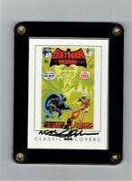 Neal Adams Signed Batman DC Archives Classic Covers Batman #232