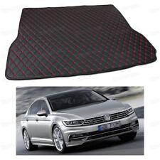 PU Leather Car Trunk Mat Cargo Pad Carpet for Volkswagen Passat Sedan 2015-2018