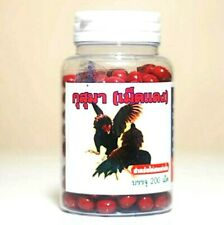 Thai Supplement Mixed Vitamin Herbs Stong Rooster Cock Chicken Kusuma Red Pill