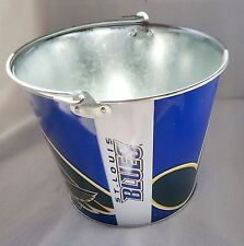 ST LOUIS BLUES NHL BEER ALUMINUM BUCKET HOCKEY 5QT ICE HYPE LOGO WITH HANDLE NEW