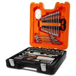 Bahco S106 106pce Mechanical Socket & Spanner Set