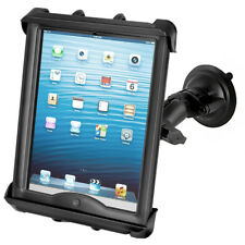 "RAM Suction Cup Mount for iPad, iPad Air and 10"" Tablets fits w/Heavy Duty Cases"