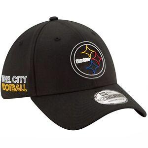 Pittsburgh Steelers New Era 39Thirty Official Draft L/XL FlexFit Cap Hat $34