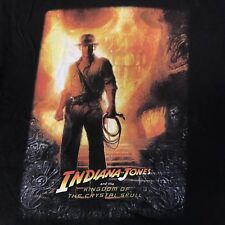 Indiana Jones And The Kingdom Of The Crystal Skull T-Shirt Men's M Harrison Ford