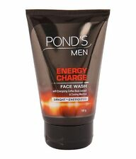 Pond's Men Energy Charge Face Wash, 100g with Coffee Bean Extracts Free Shipping