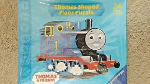 Thomas & Friends 24 Piece Thomas Shaped Floor Puzzle by Ravensburger