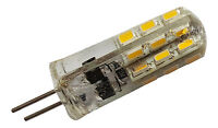 G4 1.5W 24 SMD LED 3014 12V DC 100LM DIMMABLE WARM WHITE (3000K) BULB ~20W