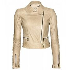 Burberry Brit – Ashleigh Leather Biker Jacket – Trench UK 16R / EU 48R / US 14R