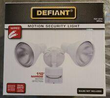 New listing Defiant 110-Degree White Motion Sensing Outdoor Security Light Open Box