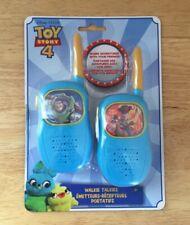 New listing Disney Pixar Toy Story 4 Blue Walkie Talkies New Tech2Go