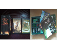 Lord Of The Rings lot, Board game, Books and DVDs - Collectible and Rare