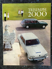 N607 TRIUMPH 2000 BERLINE & BREAK
