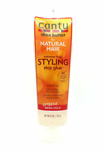 Cantu Shea Butter Extreme Hold STYLING Stay Glue For Natural Hair 8.oz
