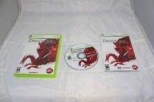 Dragon Age: Origins (Microsoft Xbox 360, 2009) Complete in Box