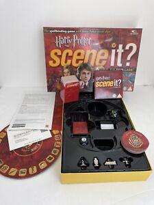 Harry Potter Scene It? DVD Family Board Game Goblet of Fire Hogwarts Complete
