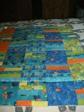 "New Child Size Colorful Throw /Comforter 34.5""X 42"""